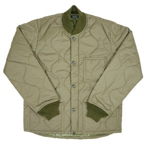 ROCKY MOUNTAIN FEATHERBED ロッキー マウンテン フェザーベッド TD MILITARY COLLECTION THIN DOWN RIB JACKET OLIVE MADE...