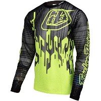 Troy Lee Designs Sprint Air Jersey – 長袖 – メンズコードFloイエロー、S