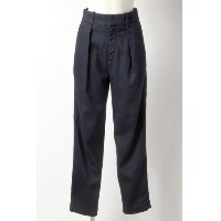 70%OFF SASSON (サッソン) レディース TUCK TAPERED PANTS ネイビー XS S M