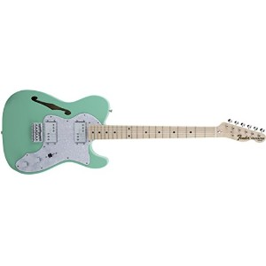 Fender エレキギター MIJ Traditional '70s Telecaster® Thinline Maple Surf Green
