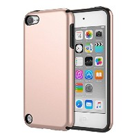iPod Touch 6 ケース - ATiC Apple iPod touch 第6世代 /iPod Touch 第5世代 用PC+TPU製 組み立て式保護ケース Rose Gold