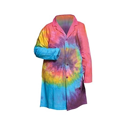 United Scientific LBCTXL Tie Dye Lab Coats, Extra Large by United Scientific Supplies