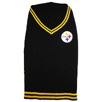 Pittsburgh Steelers Pet Sweater SM