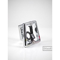 Chrome CNC front carrier block for Brompton Folding Bike - Dino Kiddo