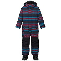 BURTON バートン 【Boys' Minishred Striker One Piece】 Seaside Stripe 4Tsize(目安身長 99~106.5cm) つなぎ...