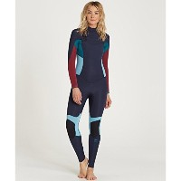 Billabong 4 / 3 Synergy chest-zip Full Wetsuit – Women 's