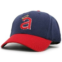 California Angels 1971MLB CooperstownコレクションFittedキャップ( 71/ 8