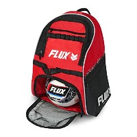 Flux Guardianサッカーバッグwithボールホルダー–スポーツバックパックwithクリートとボールHoldingポケットforサッカー、バスケットボール、バレーボール–Comes...