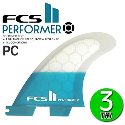 FCS2 フィン パフォーマー PERFORMER PC TRI FIN S M L / エフシーエス2 トライフィン ショートボード サーフボード サーフィン 2017 M