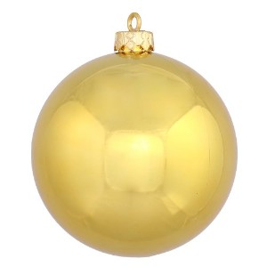"Vickerman 4.75で。Shiny Ball ORNAMENT – SET OF 4 4.75"" ゴールド N591208DSV"