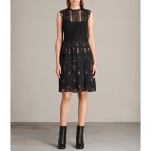 MILEN MAIZE DRESS (Black)