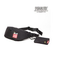 Manhattan Portage × PEANUTS Brooklyn Bridge Waist Bag【マンハッタンポーテージ/Manhattan Portage レディス, メンズ その他...