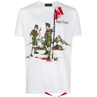 Dsquared2 - Bad Scout print T-shirt - men - コットン - S