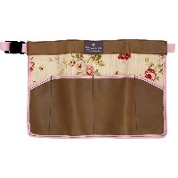 [OUTLET] |Bradley's | Ann Floral Leather Apron | アンフローラル レザーエプロン (UK) | ブラッドリーズ