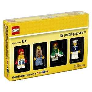 LEGO(レゴ)トイザらス限定 クラシック・コレクション ミニフィグ4体セット Limited Edition Exclusively at ToysRus