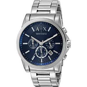 Armani Exchange アルマーニ エクスチェンジ メンズ 時計 腕時計 Men's 'Smart' Quartz Stainless Steel Automatic Watch,...