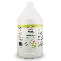 Nootie Soothing Aloe and Oatmeal Pet Shampoo, Cucumber Melon - 1 Gallon Size by Nootie