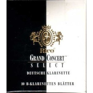 リコ リード RICO Grand Concert Bb Clarinet DEUTSCHE 3 10REEDS