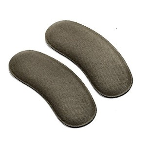 Self Adhesive Soft Sponge Back Heel Cushion Protector Liner Pads Heel Inserts Insoles Grip (5Pairs) by Upstore