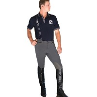 Goode Rider Mens Pro K / P Breeches charcoal-34r