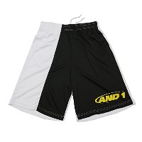 (アンドワン) AND1 TC ASYMMETRY SHORT M BLACK/WHITE/YELLOW
