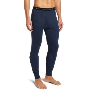 Hanes KMO3 Duofold Originals Mid-Weight Wool-Blend Mens Thermal Underwear Size Large, Blue Jean
