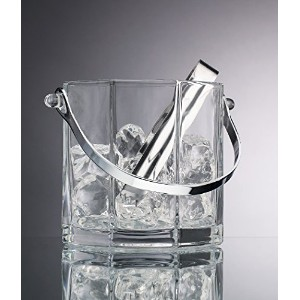 Home Essentials & Beyond 945430オンスPaneled Ice Bucket with Tongs