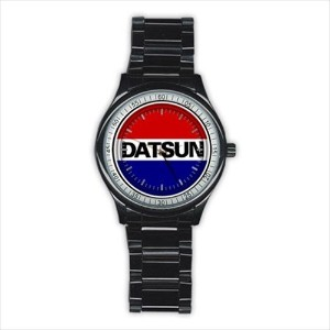 Datsun ダットン Design japan tokyo drift Old Skool Custom Sport Black stainless steel Watch