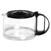 Capresso 4451.01 10-cupガラス交換Carafe with Lid、ブラック