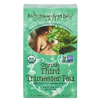 海外直送品 Earth Mama Angel Baby Organic Third Trimester Tea, 16 CT