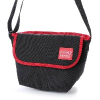 マンハッタンポーテージ Manhattan Portage 2tone Casual Messenger Bag (Black/Red) レディース メンズ