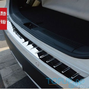 US バンパープロテクター FIT FOR 14-スズキSX4 S-クロスリア・バンパー・プロテクターTRUNK BOOT SILL PLATE COVER FIT FOR 14- SUZUKI...