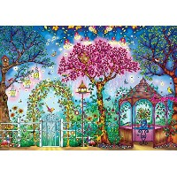 【[バッファローゲーム]Buffalo Games Featuring The Work of Johanna Basford Songbird Garden Jigsaw Puzzle 3843 ...