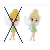 Q posket Disney Characters -Tinker Bell- ティンカーベル パステルカラーver