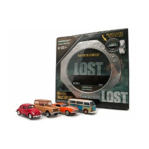 "GREENLIGHT 1:64SCALE HOLLYWOOD FILM REELS ""LOST"" ""'71 VOLKSWAGEN TYPE2 / '70 FORD BRONCO / '70..."