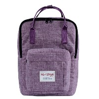 HotStyle Basic Classic - Bestie Cute Waterproof Diaper Bag Backpack for Mom - Purple by hotstyle