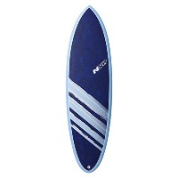 "NSP 2016 SURFBOARD COCOMAT HYBLID 6'2"" BLUE C304212B"