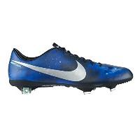 NIKE MERCURIAL VAPOR IX CR FG SOCCER CLEATS (DARK OBSIDIAN/GREEN GLOW/BLACK/METALLIC PLATINUM)...