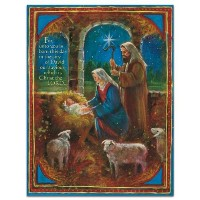 Boxed Christmas Cards by LANG: O COME EMMANUEL w/ beautiful artwork by Stewart Sherwood by LANG