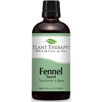 Fennel (sweet) Essential Oil. 100 ml. 100% Pure, Undiluted, Therapeutic Grade.