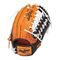Rawlings(ローリングス)軟式グラブ HOHカラーシンクパッチ Japan Limited GR7FHHS8 ORG×Bオレンジ×ブラック LH