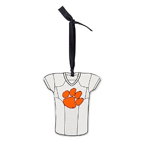 Team Sports America NCAA Personalizable Jersey Ornament withチームカラーマーカー