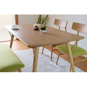 ISSEIKI CLOVER ダイニングテーブル 北欧 ナチュラル オーク材 幅140 CLOVER DINING TABLE 140 (RW-LB)