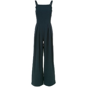 Andrea Marques - straight neck jumpsuit - women - アセテート/ビスコース - 42