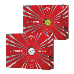 Callaway 2016 Chrome Soft Golf Ball【ゴルフ ボール】