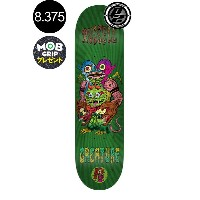 【CREATURE クリーチャー】8.375in x 32in RUSSELL WEIRDOS P2 PRO DECKデッキ クリス・ラッセル スケートボード スケボー ストリート sk8...