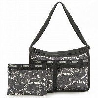LeSportsac レスポートサック ショルダーバッグ 7507 DELUXE EVERYDAY BAG G058 HAPPINESS ALLOVER [並行輸入商品]