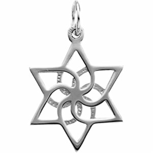 STAR OF DAVIDペンダント( Made in Holy Land )