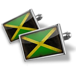 Cufflinks Jamaica Flag With A Vintage Look – Neonblond