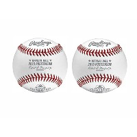 Rawlings MLB公式2015 Postseasonゲーム野球( 2 - Pack )
